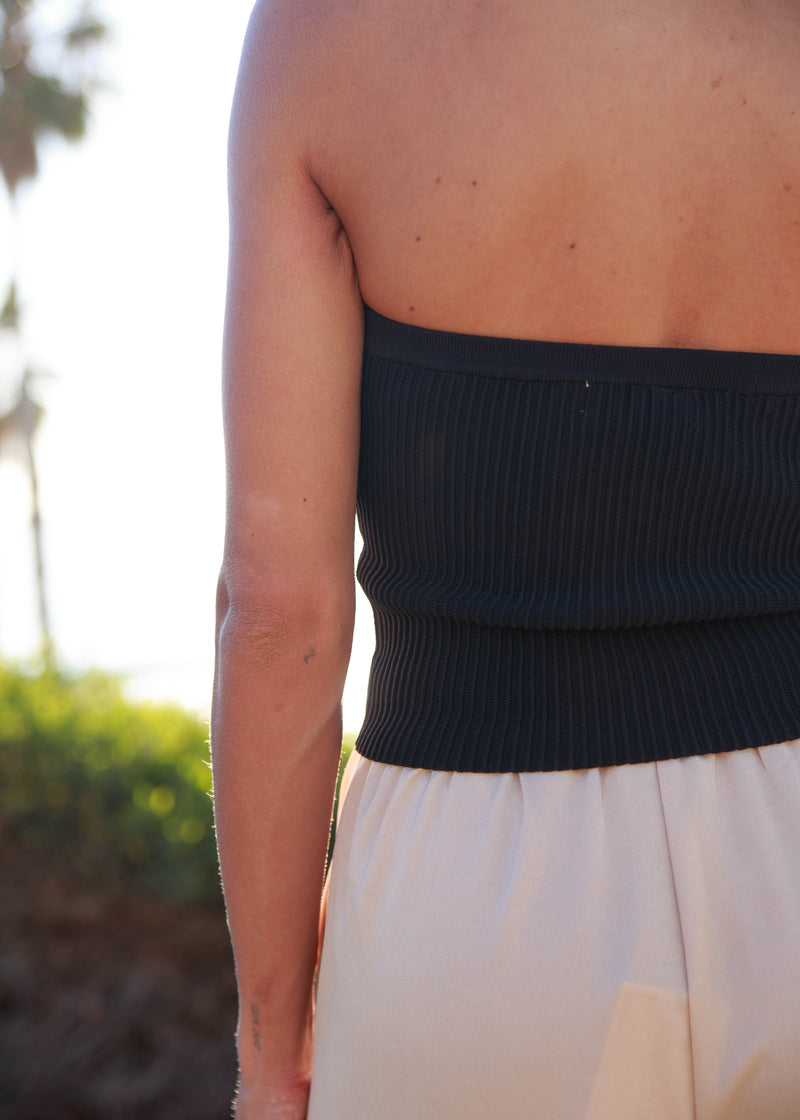 Moray Strapless Top