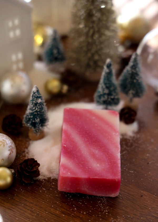 Candy Cane Cold Process Soap