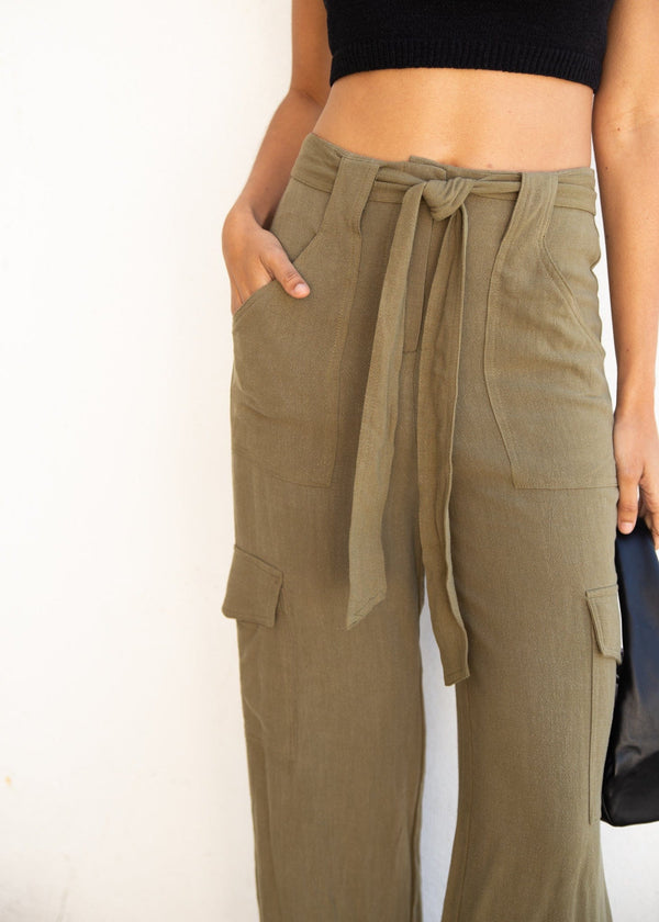 Marsh Cotton Trouser - Olive