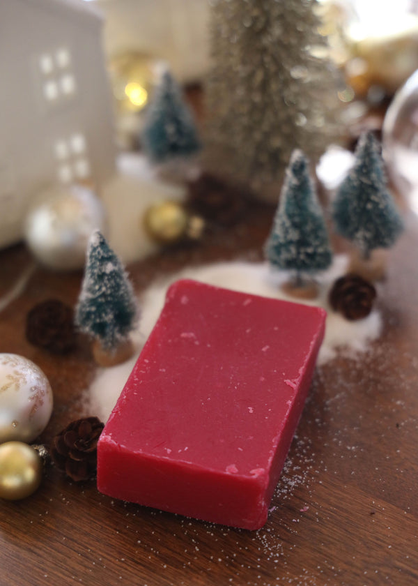 Cranberry Spice Cold Process Soap - AMĒNAH
