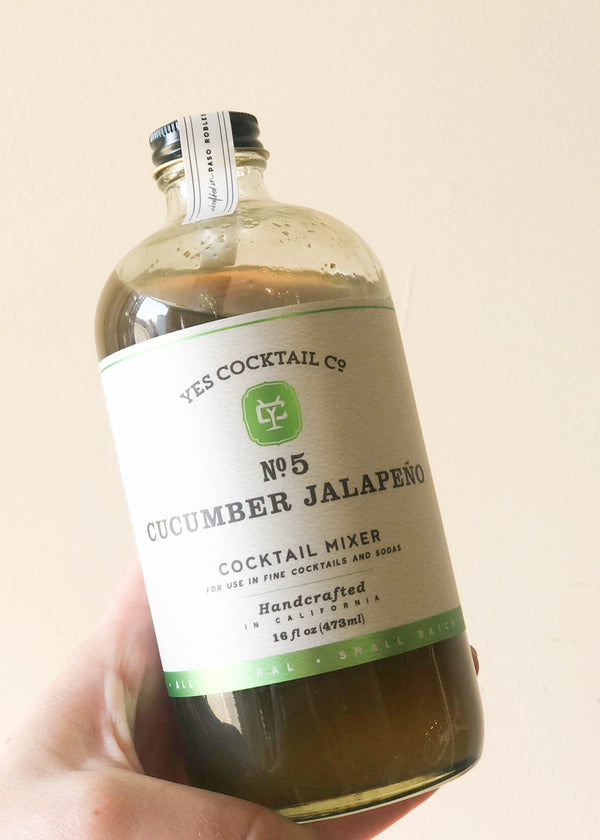 Cucumber Jalepeno Cocktail Mixer - AMĒNAH