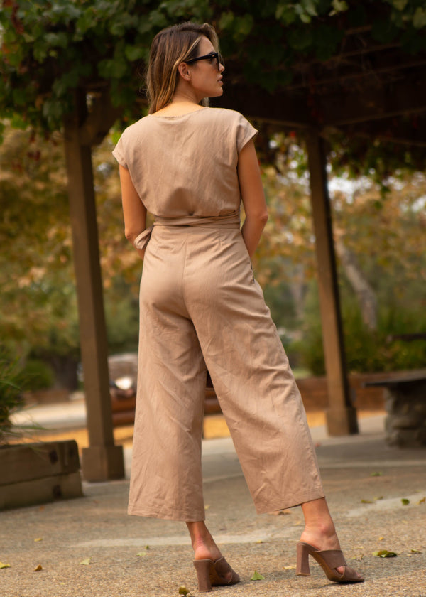 Madison Linen Jumpsuit