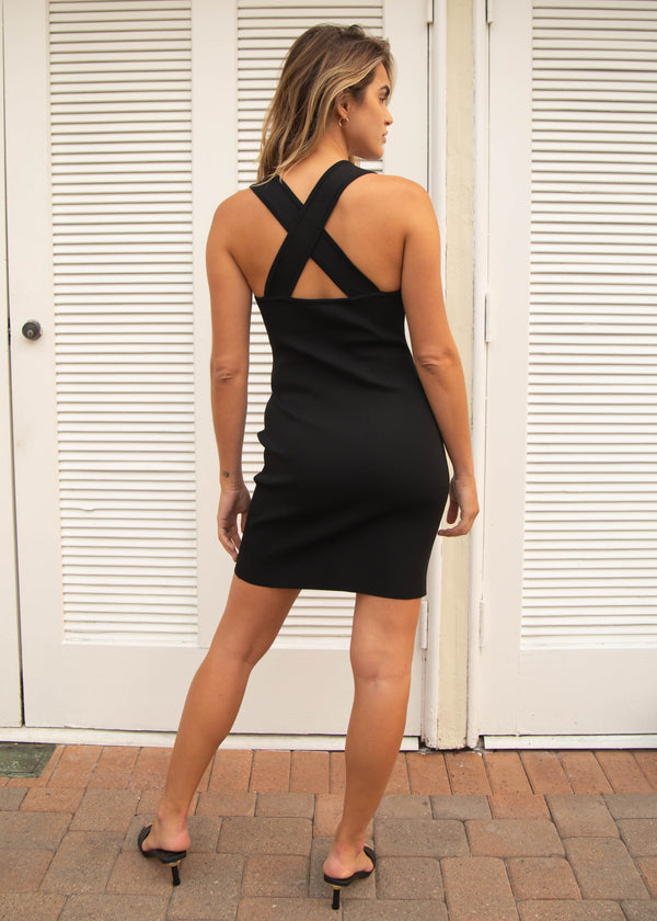 La Brea Bodycon Dress - Black