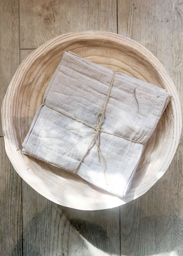 Linen Napkins - Birch - Set of 4