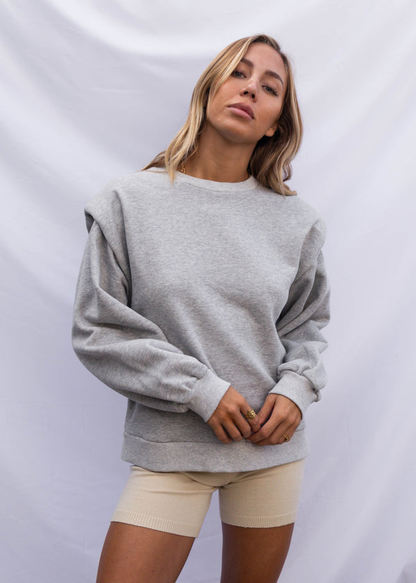 Torina Pullover - Heather Grey