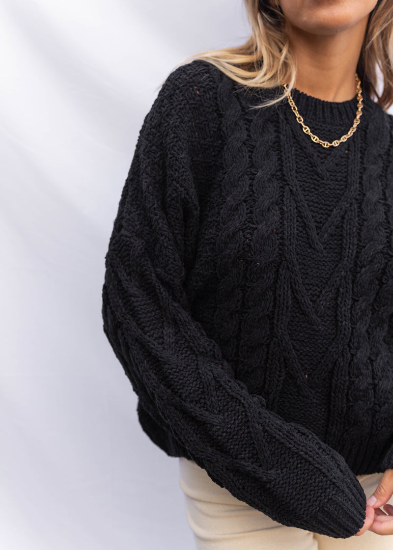 Ashton Chenille Sweater