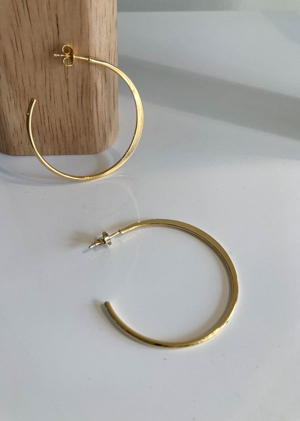 Gold Dipped Nuance Hoops