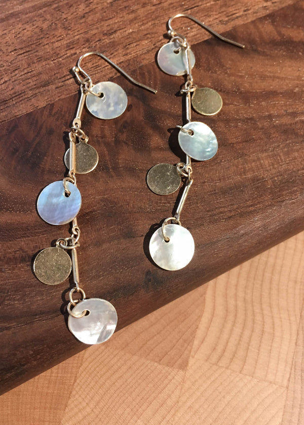 mother of pearl earrings, pearl earrings, mother of pearl trend, mother of pearl accessories, cute mother of pearl earrings, earrings, summer accessories, accessory ideas, cute accessories, gift ideas for her, accessory trends, summer trends 2019, New arrivals
