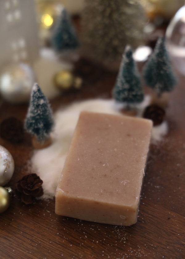 Oatmeal Spice Cold Process Soap - AMĒNAH