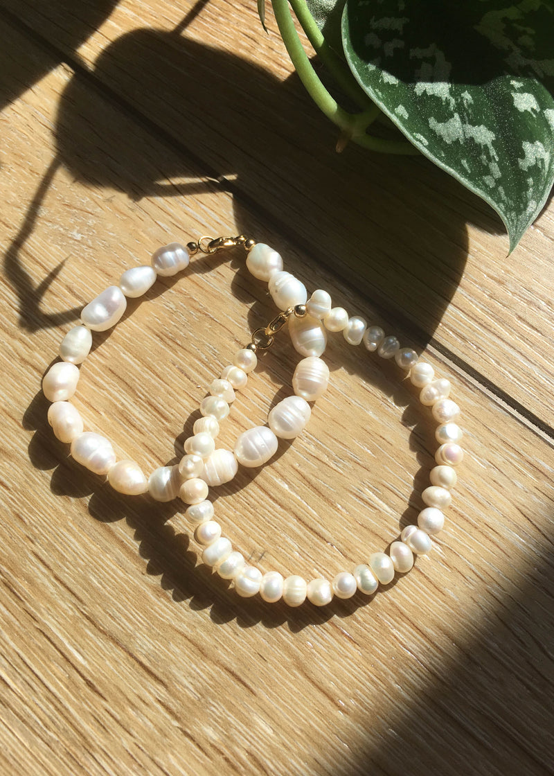 Pearl Beaded Bracelet