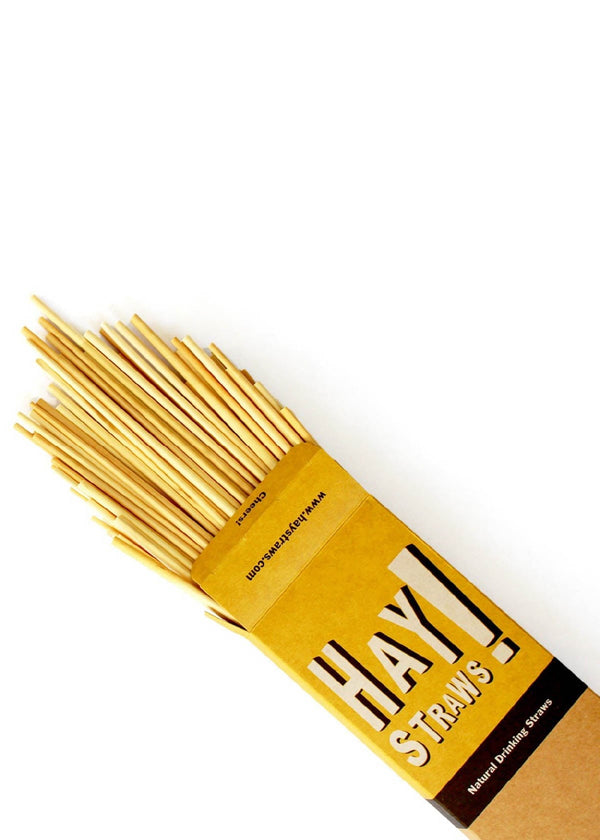 Hay Straws - Biodegradable Straws - AMĒNAH