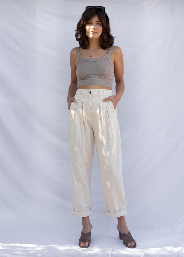Anita Pleated Trouser