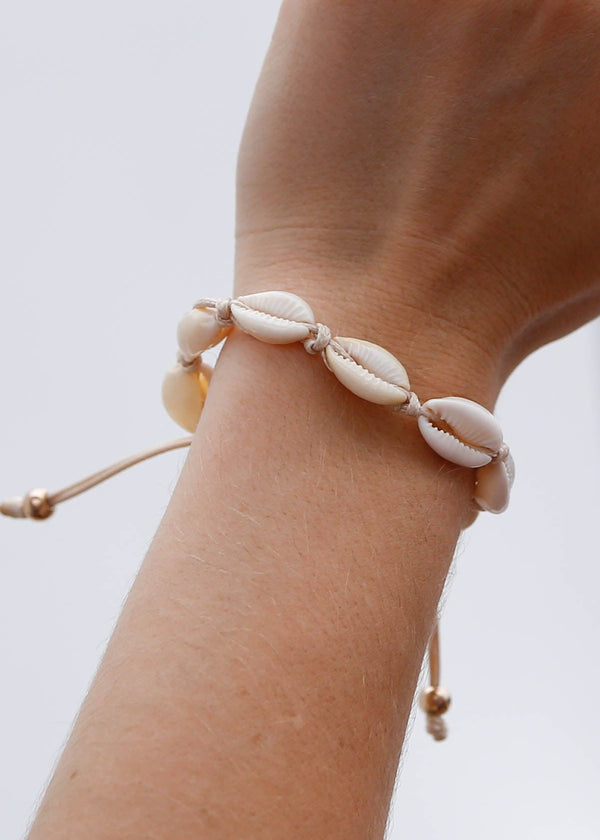 Mini Puka Shell Adjustable Bracelet