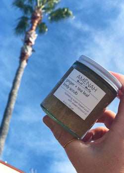 Ginger + Tea Sugar Body Scrub