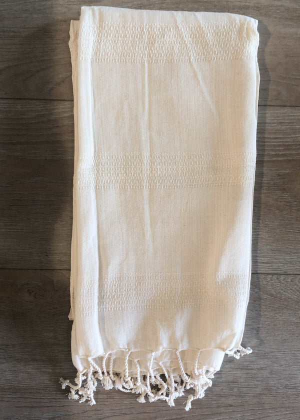 Organic Silk + Cotton Turkish Towel - AMĒNAH