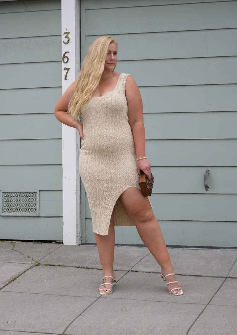 Katella Lurex Knit Dress