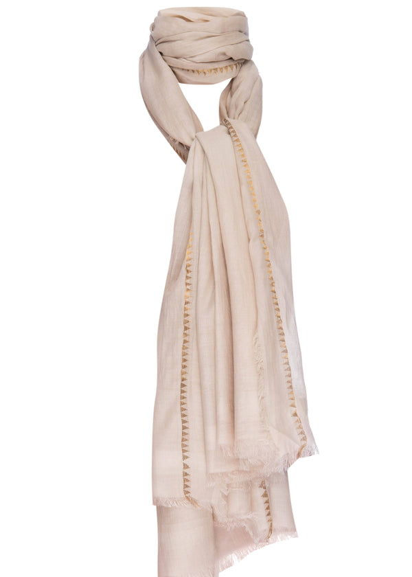 Silk + Cotton Marbella Scarf