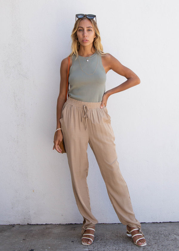 Ankle Tie Billow Pant