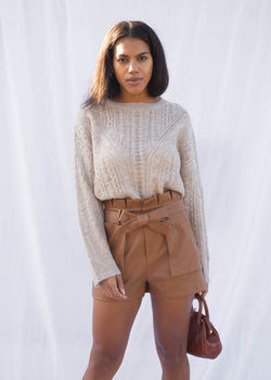 Linden Cable Knit Sweater