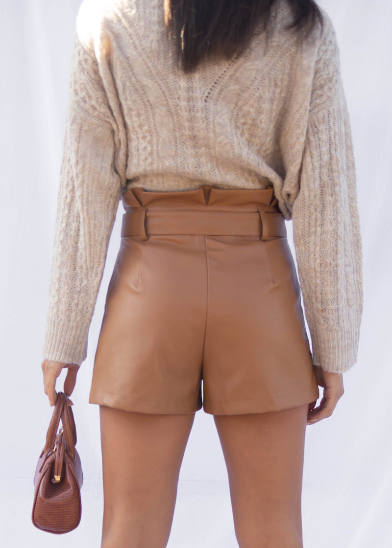 Remo Vegan Leather Short