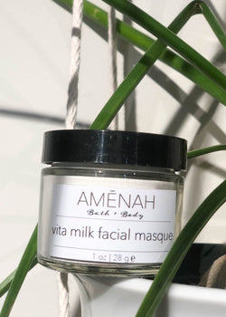 Vita Goat Milk Face Mask - AMĒNAH