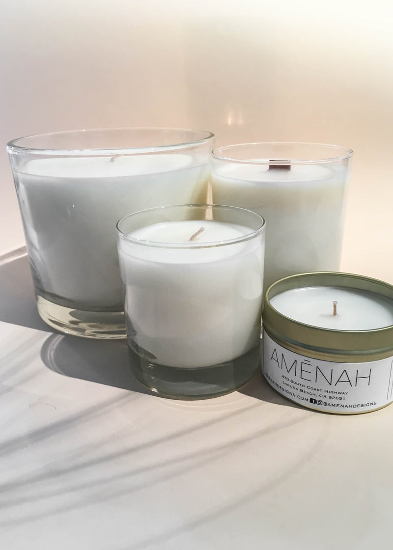 Fern + Wood Candle - AMĒNAH