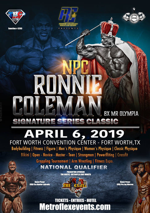 April 6th Ronnie Coleman Classic