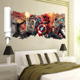 Marvel's The Avengers Wall Sticker Decals for Kids Room Home Nursery Wall Art