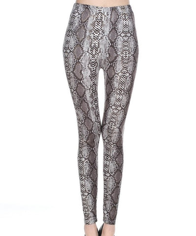 lady animal patten legging tiger leopard snake printed leggings ankle slim