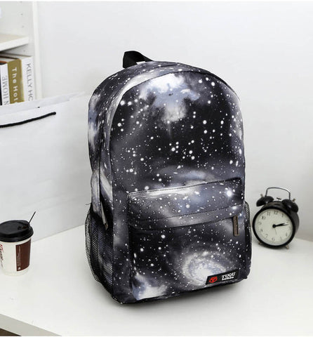 Space Printed Backpacks For School Kids