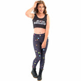 Black Milk New Maze Print Pacman Women Leggings Skinny Long leggings women pant