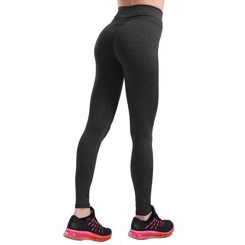 3 Colors Casual Push Up Leggings Women Summer Workout Polyester