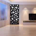 Hot 3D Mirror Wall Sticker Home Living Room Bathroom Vinyl Art Decals