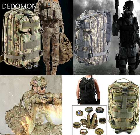 Outdoor Military Camping Trekking Backpack For Adventurers