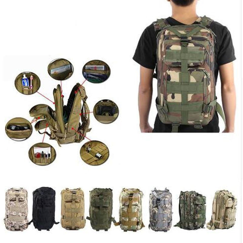 Tactical Softback Outdoor Bags For The Survivalists at Heart