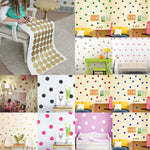 Mini Polka Dots Wall Sticker Nursery Kids Rooms Children
