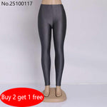 Women Leggings Solid Candy Color Adventure Time Skinny High Elastic female