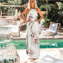 Load image into Gallery viewer, Beach Luxury Floral Beach Maxi Dress