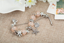 Load image into Gallery viewer, Beach Luxury Crystal Beads Bracelet Starfish Dolphin Charm Bracelets