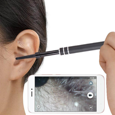 HD Endoscope Ear Wax Remover