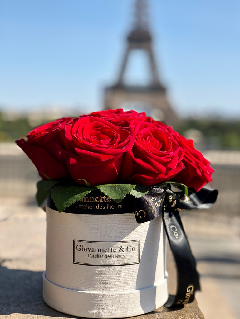 Paris Je T'aime Blooms Box