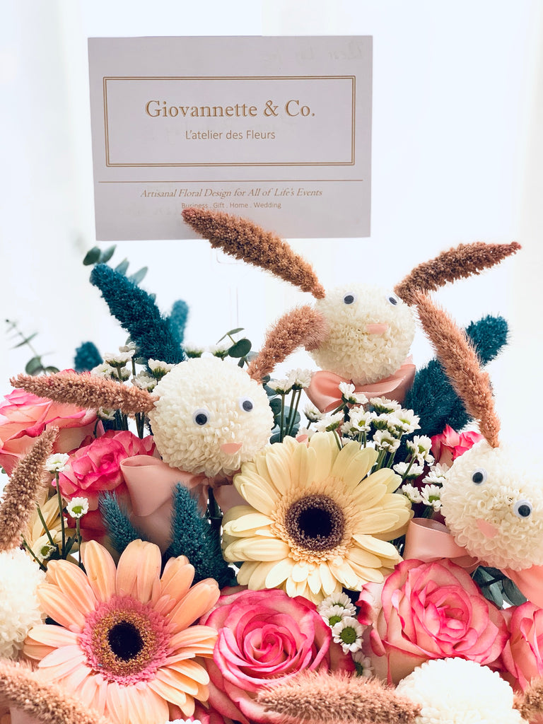 Splendid & Sweet Bunnies Blooms Box