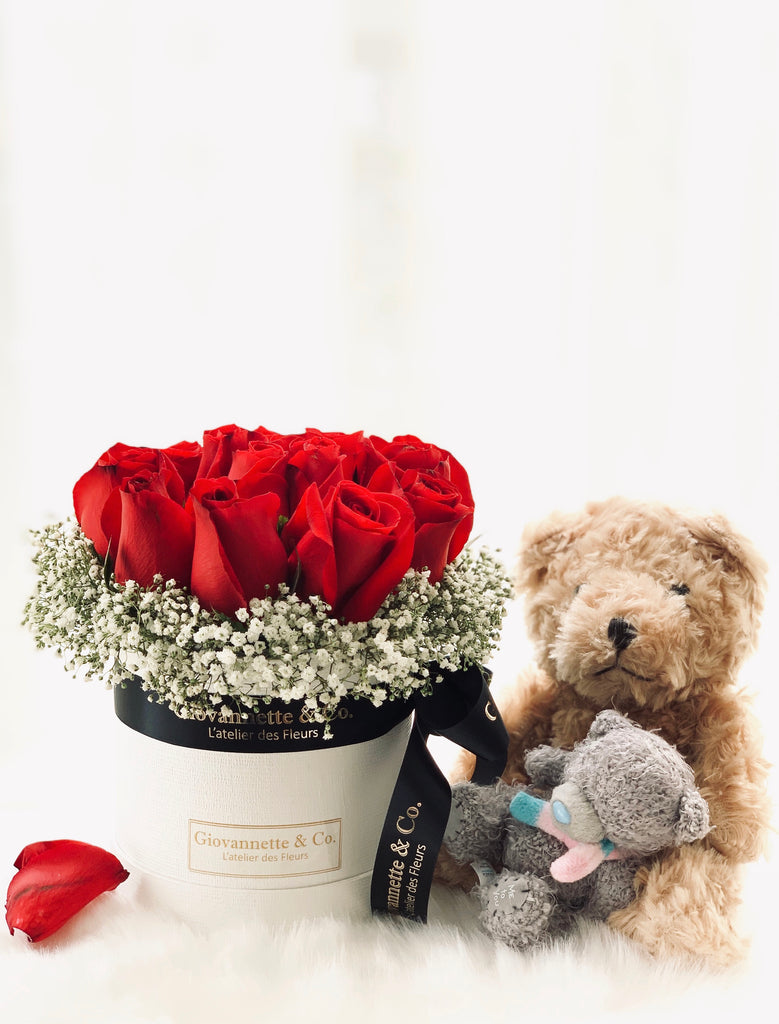 Blossom Paris Je T'aime + 2 Bears Set