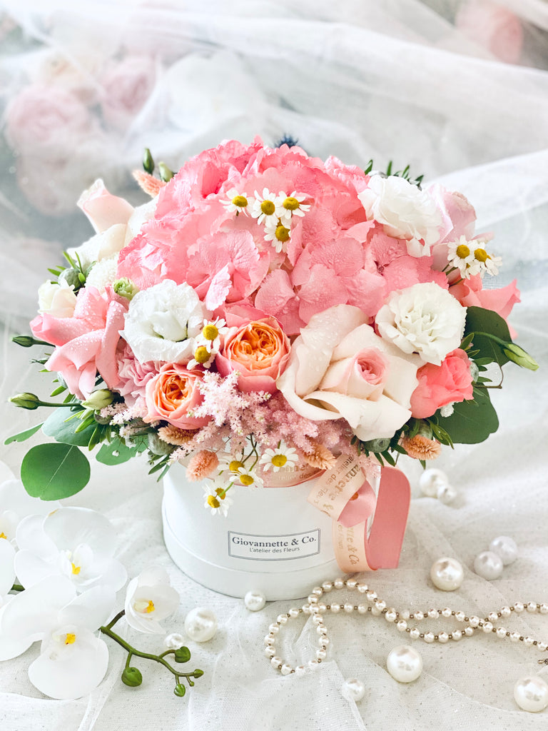 Pink Delight Blooms Box (Fresh Flowers)
