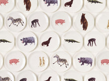 Load image into Gallery viewer, Holly's Ark 'Zebra' - fine bone china side plate