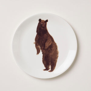 Holly's Ark 'Bear' - fine bone china side plate
