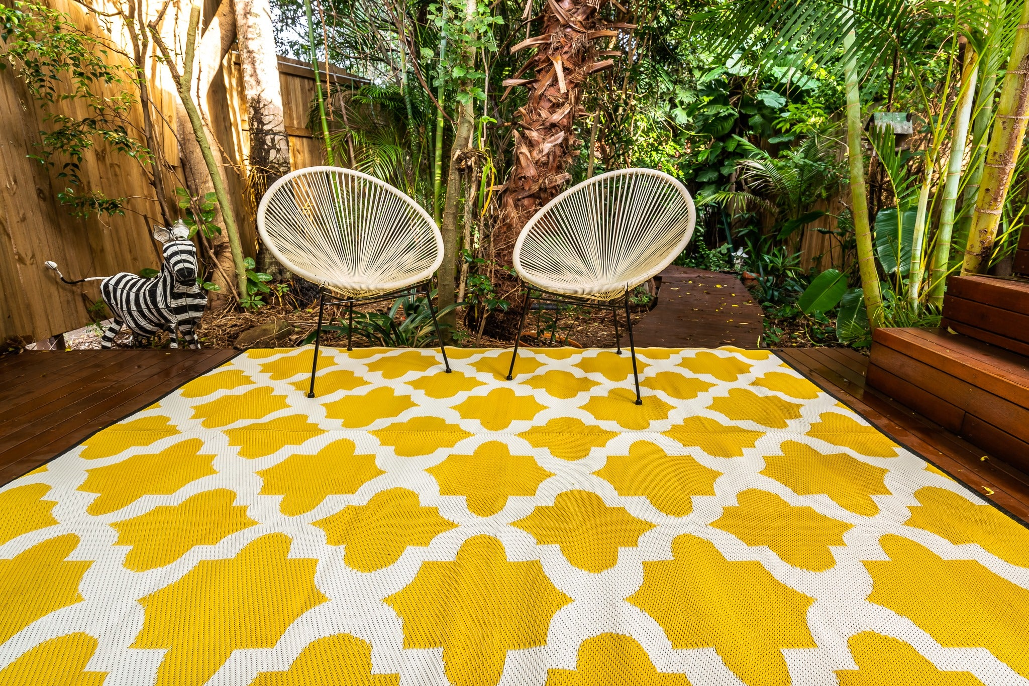 Outdoor Rug Morocco Yellow - Xcelerator Onlinenz | Shop Designer Outdoor Rugs and Vanity Mirrors