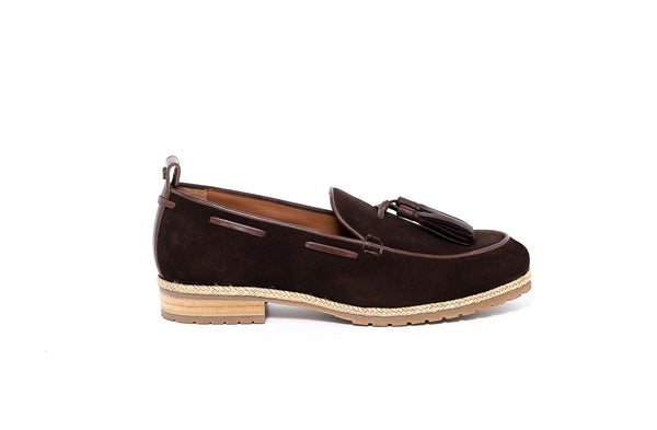 Brown Loafer With Tassel Detail