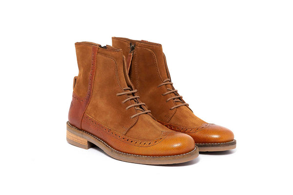 Camel Oxford Boot