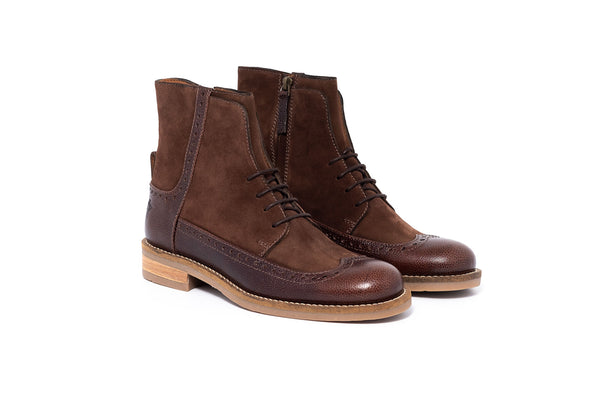 Brown Oxford Boot